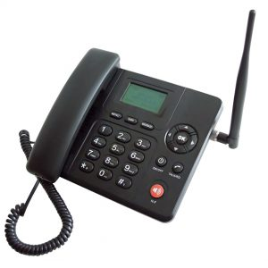 3G fixed wireless desk phone
