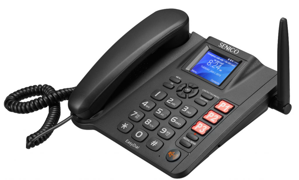 4G wireless desk phone