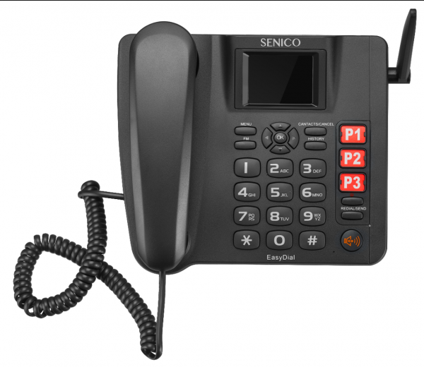 4G fixed wireless desk phone