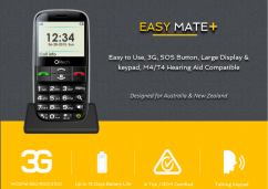 Big Button Mobile Phones– Safety and Security withit