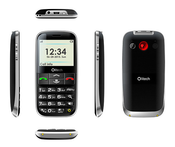 3G seniors mobile phone
