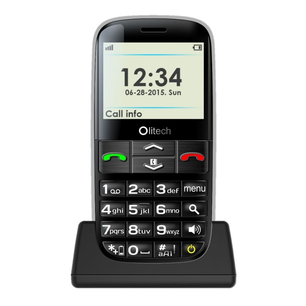 Big Button Mobile phone for elderly