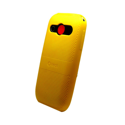 Protective Case for Olitech EasyMate 3G Seniors Mobile Phone - ( Yellow )
