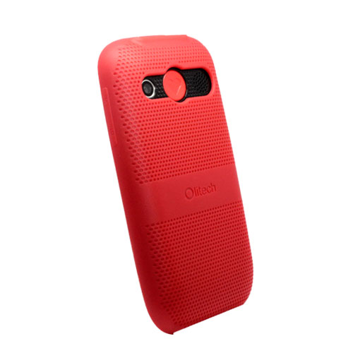 Protective Case for Olitech EasyMate 3G Seniors Phone - ( Red )