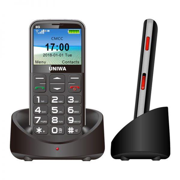 3G Big Button Seniors Citizen Mobile Phone